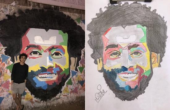 الرسمة من الورق إلى الجدران