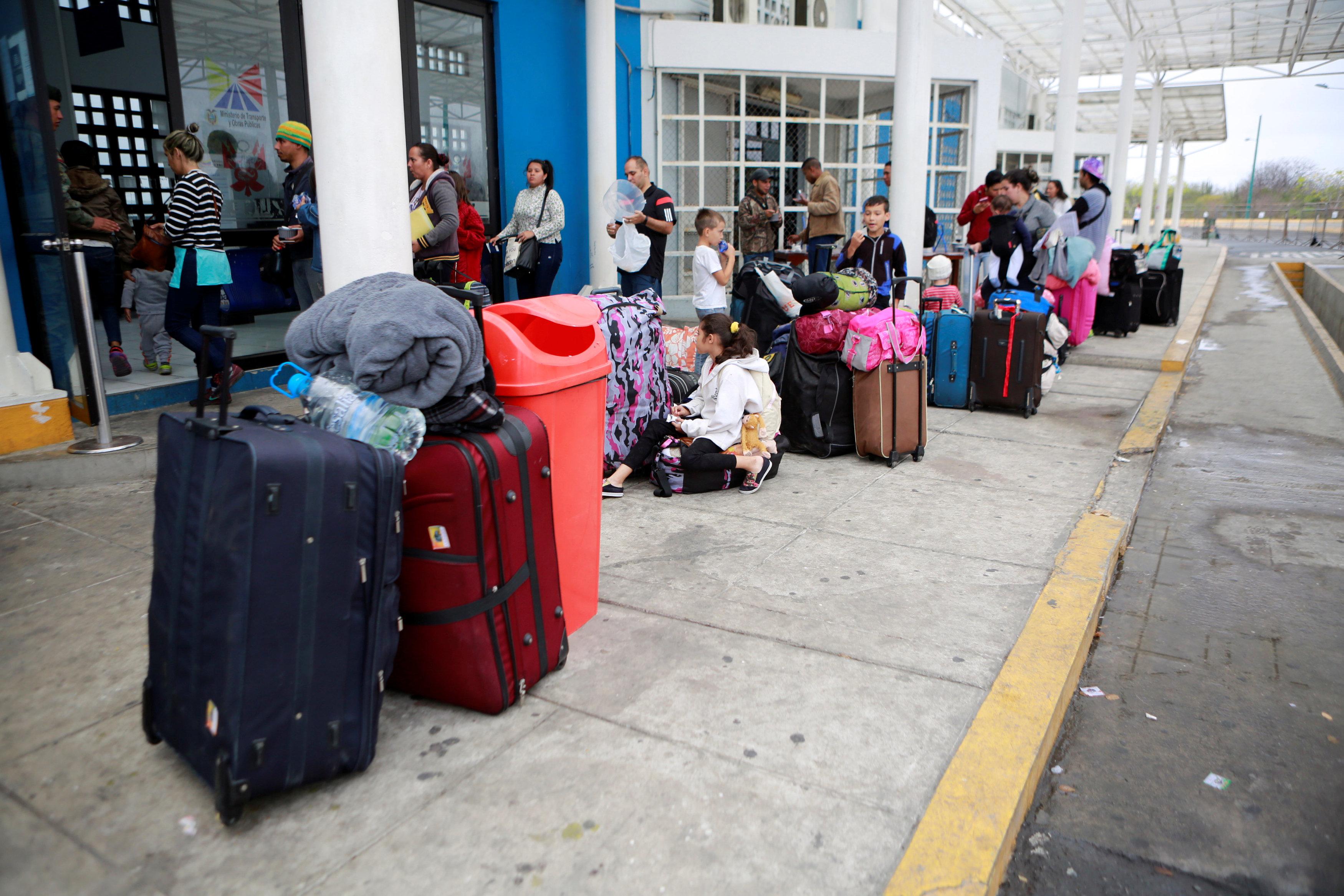 مهاجرون فنزويليون