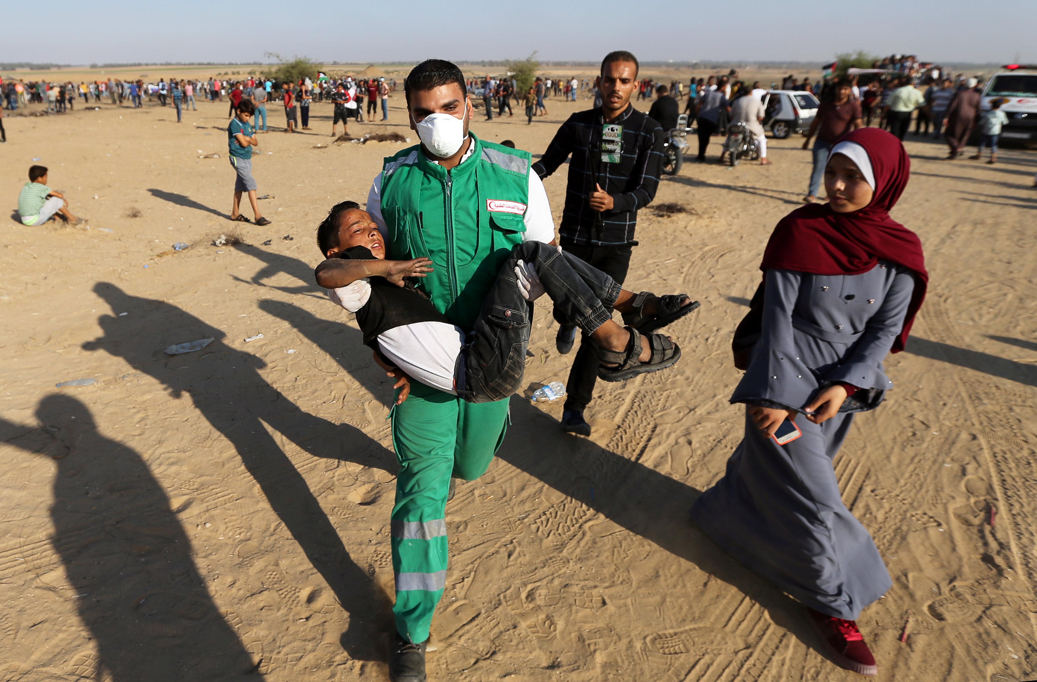 الاشتباكات بين الفلسطينيين والإسرائيليين