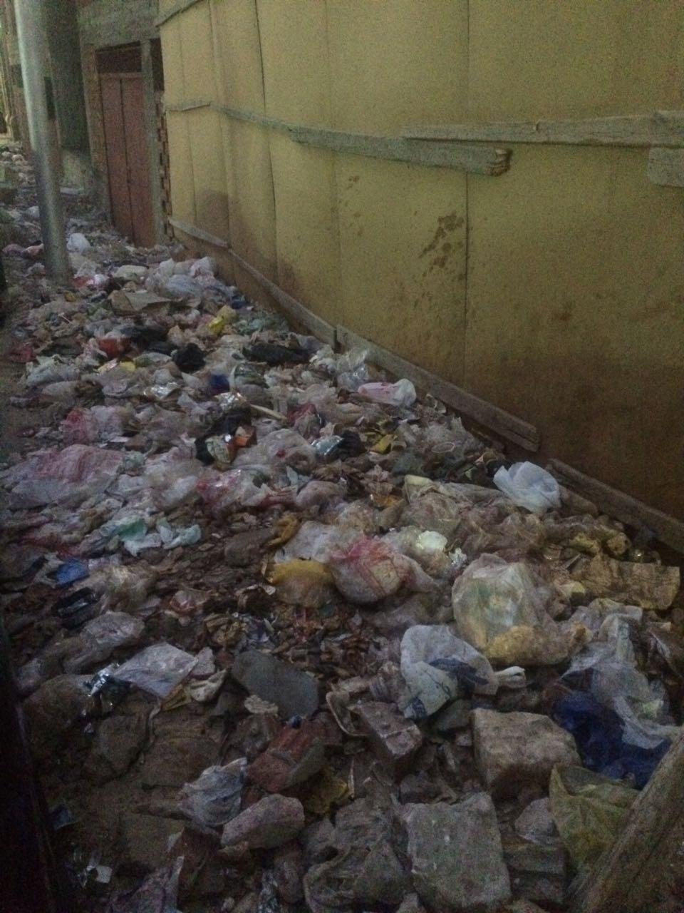 تراكم القمامة بشارع العروسى (2)