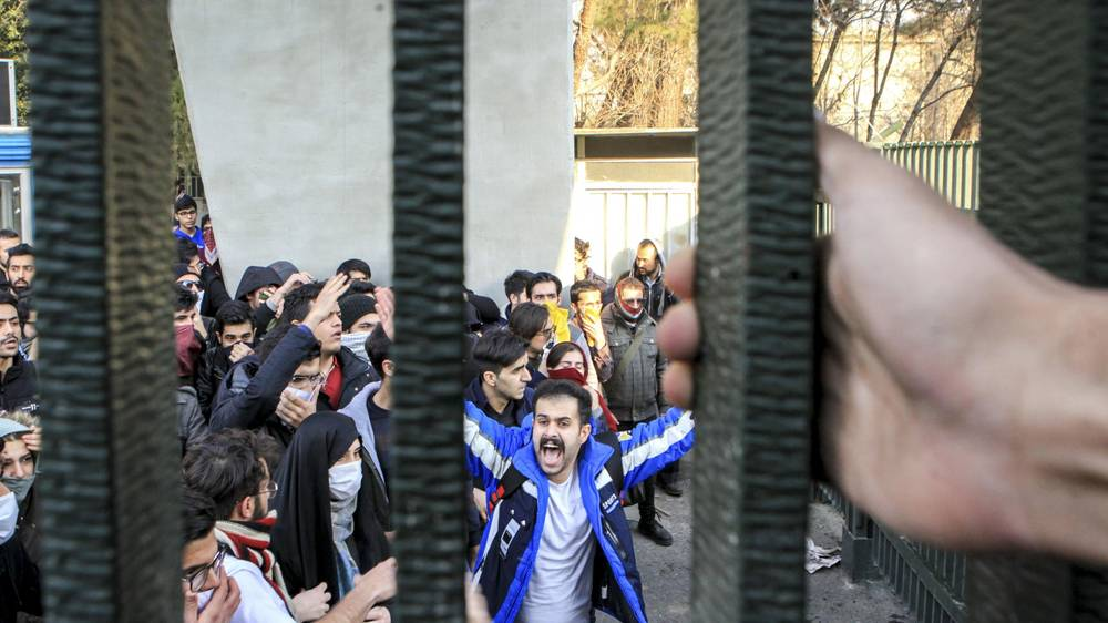 مظاهرات فى إيران