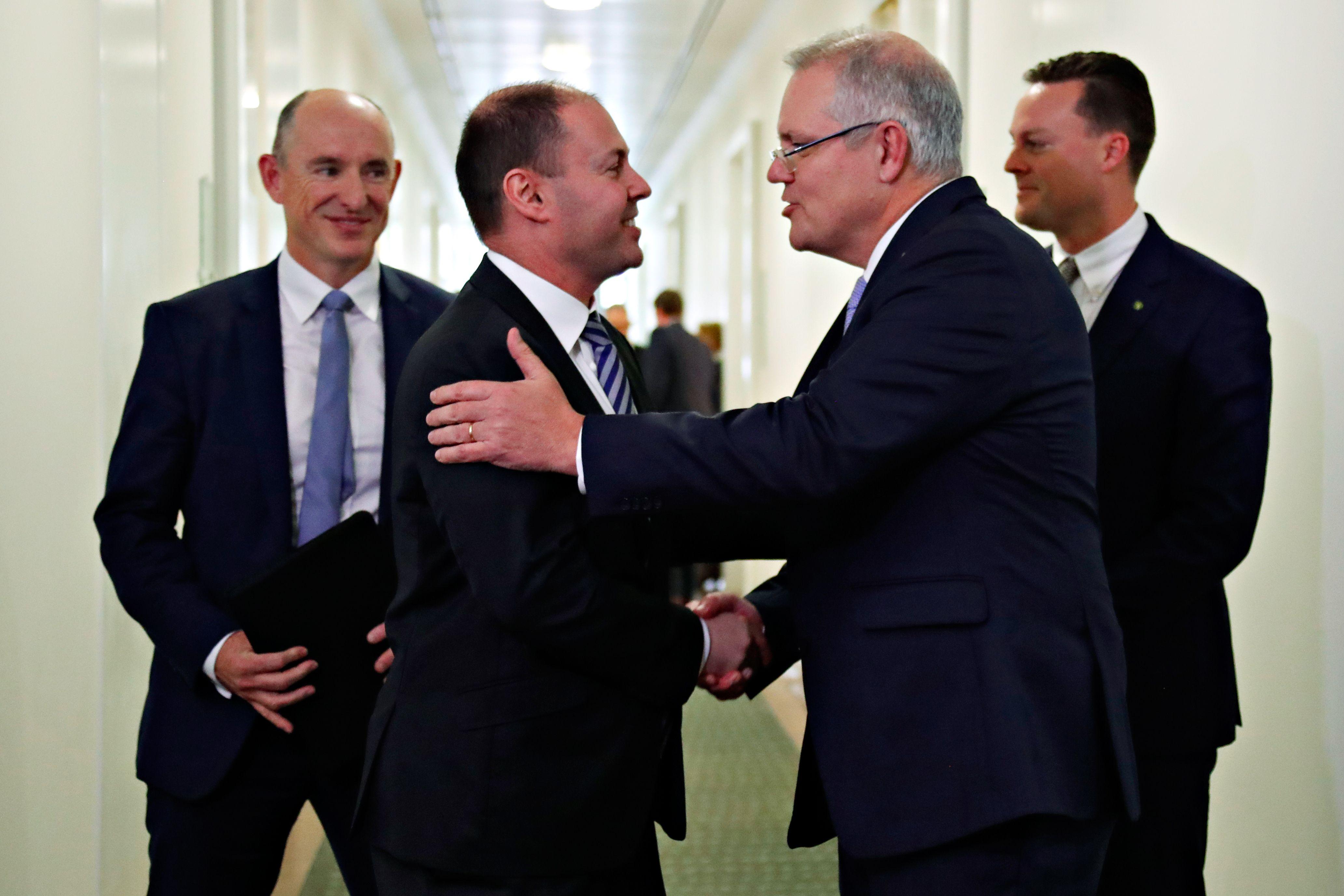 تهنئة مالكوم ترنبول رئيس وزراء أستراليا السابق