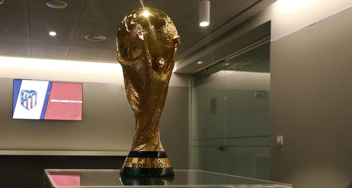 كأس العالم فى ملعب أتلتيكو مدريد