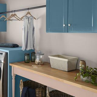 موضة ألوان دهانات 2019 لا لون يعلو فوق الأزرق من المطبخ للحمام