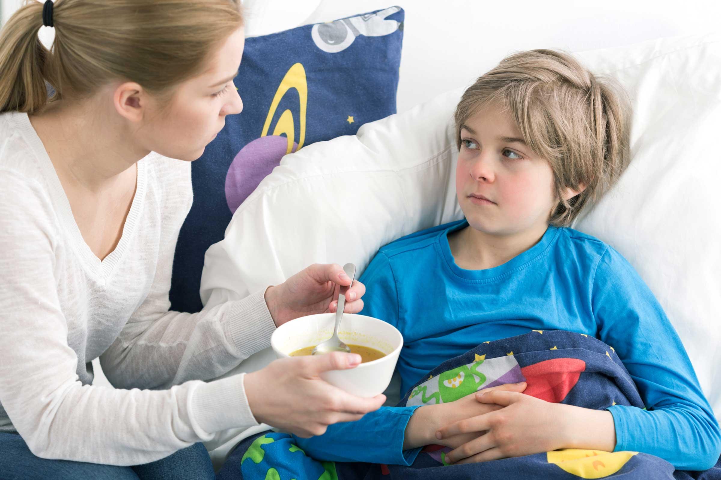 نصائح لتقوية مناعة الطفل