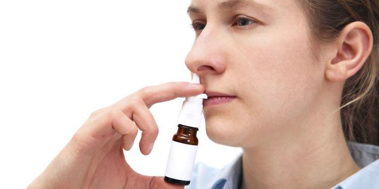 علاج جفاف الانف
