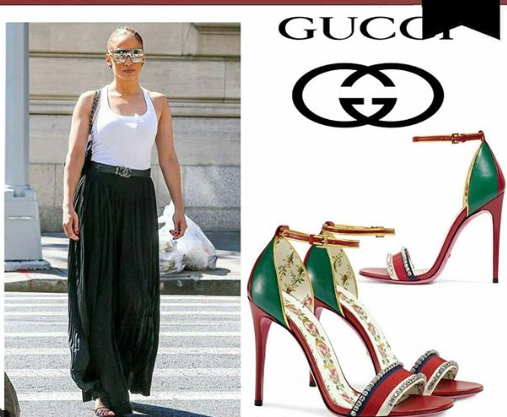afcb48ca0 أخر كلام | أجمل أحذية جنيفر لوبيز فى إطلالاتها