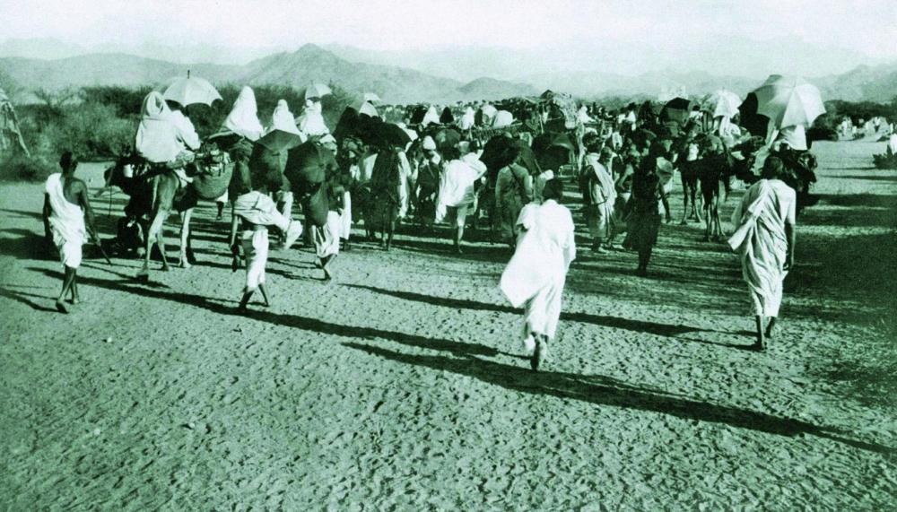 جبل النور قبل مدخل مكة.
