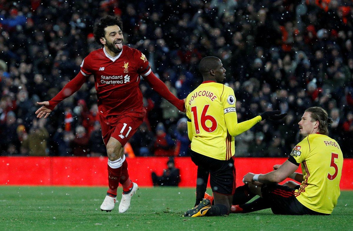 محمد صلاح يتألق مع ليفربول