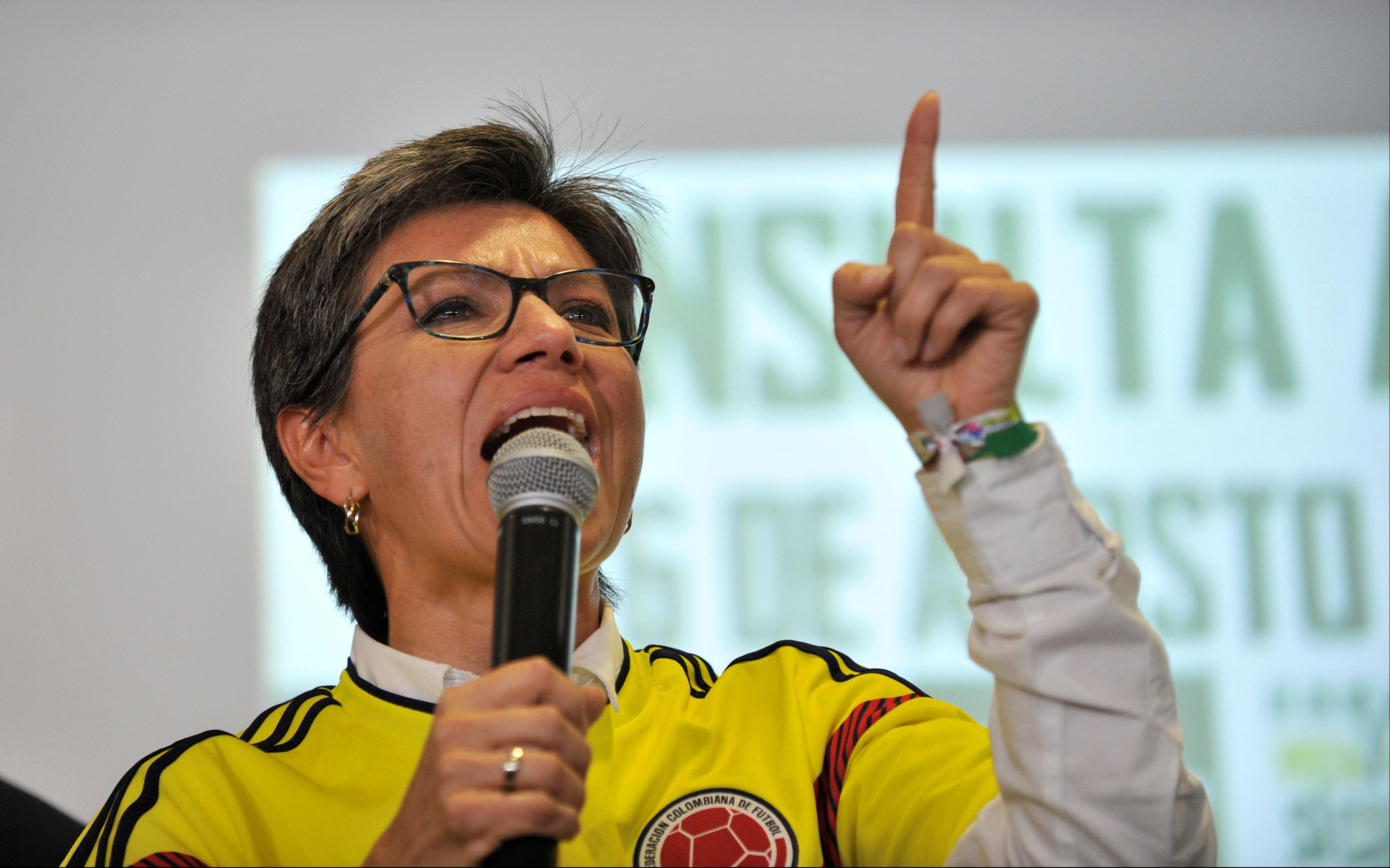 عضوة الحزب الأخضر كلوديا لوبيز تتحدث عقب فشل الاستفتاء