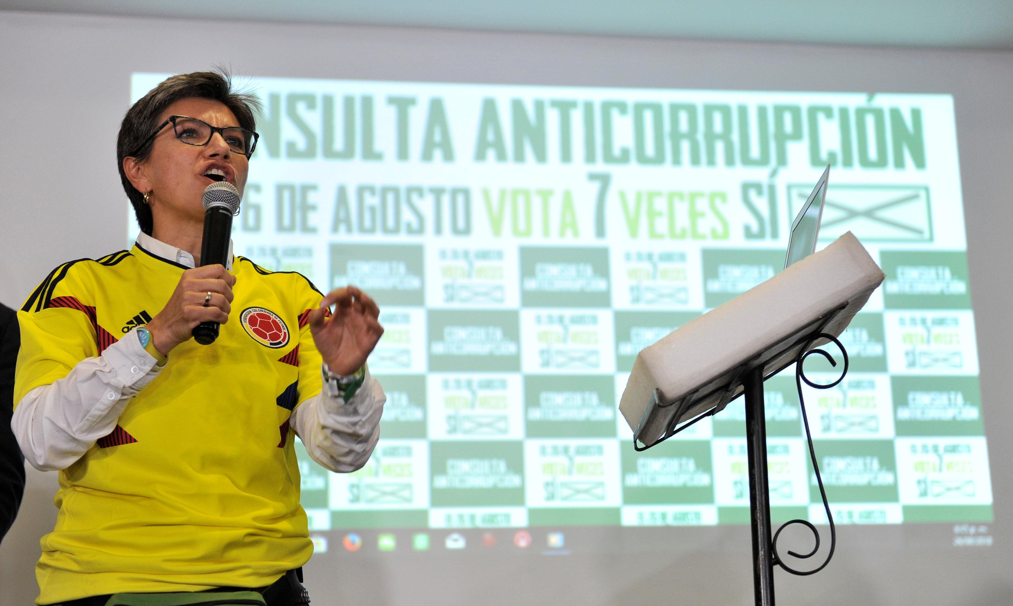 عضوة الحزب الأخضر كلوديا لوبيز تتحدث بعد فشل الاستفتاء