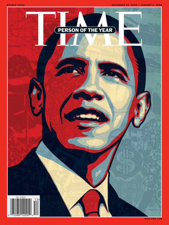 2008 - 2012  - باراك أوباما