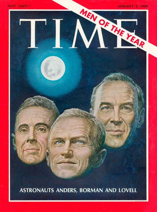 1968 - رواد رحلة فضاء أبولو 8