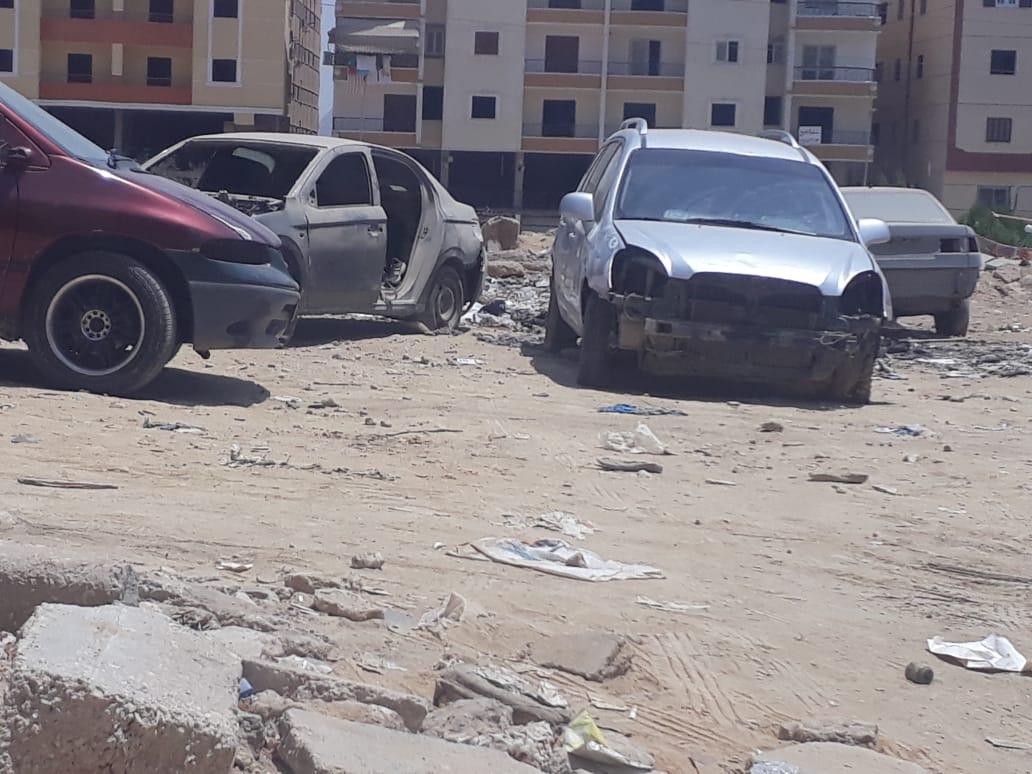 التوك توك وزحام السيارات فى حدائق الاهرام (2)