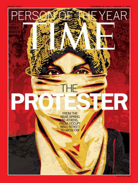 2011 - المحتجين