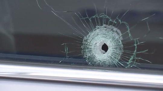 أثر الرصاصة فى إحدى الحوادث