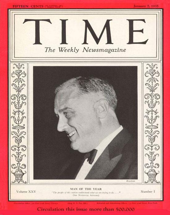 1934 فرانكلين ديلانو روزفلت