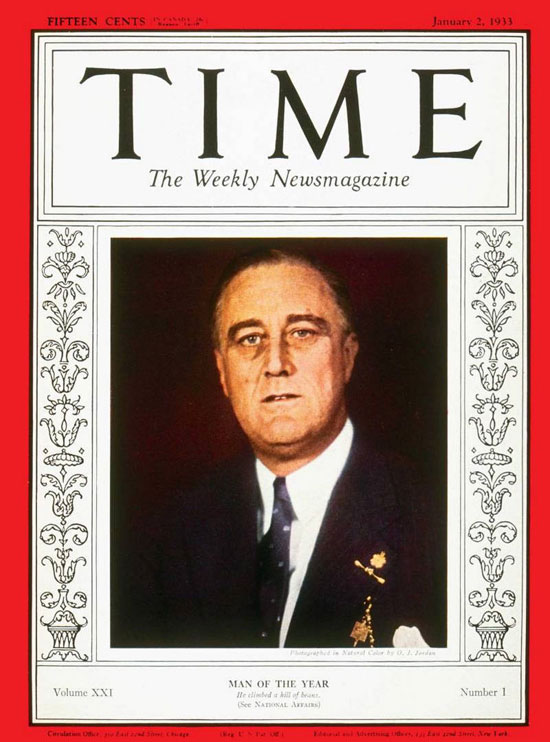 1932 - 1941 فرانكلين روزفلت