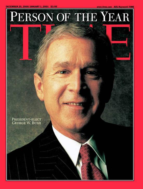 2000 - 2004 - جورج والكر (دبيلو) بوش