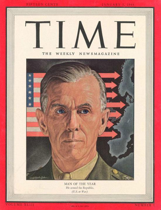 1943 - 1947 جورج مارشال