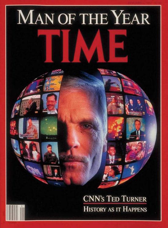 1991 - تيد تيرنر