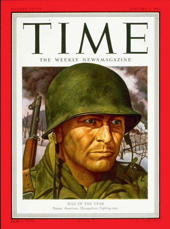 1950 - المحارب الأمريكي أو القوات المسلحة الأمريكية