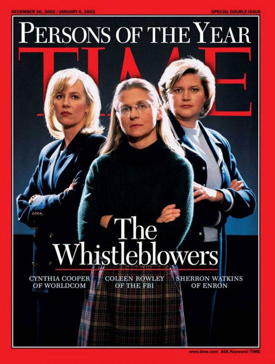2002 - كاشفي الفساد