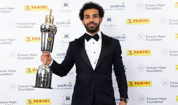محمد صلاح لاعب العام فى انجلترا