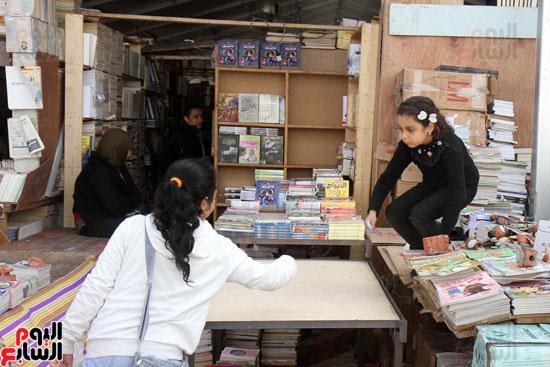 سور الأزبكية فى معرض القاهرة الدولى للكتاب (6)