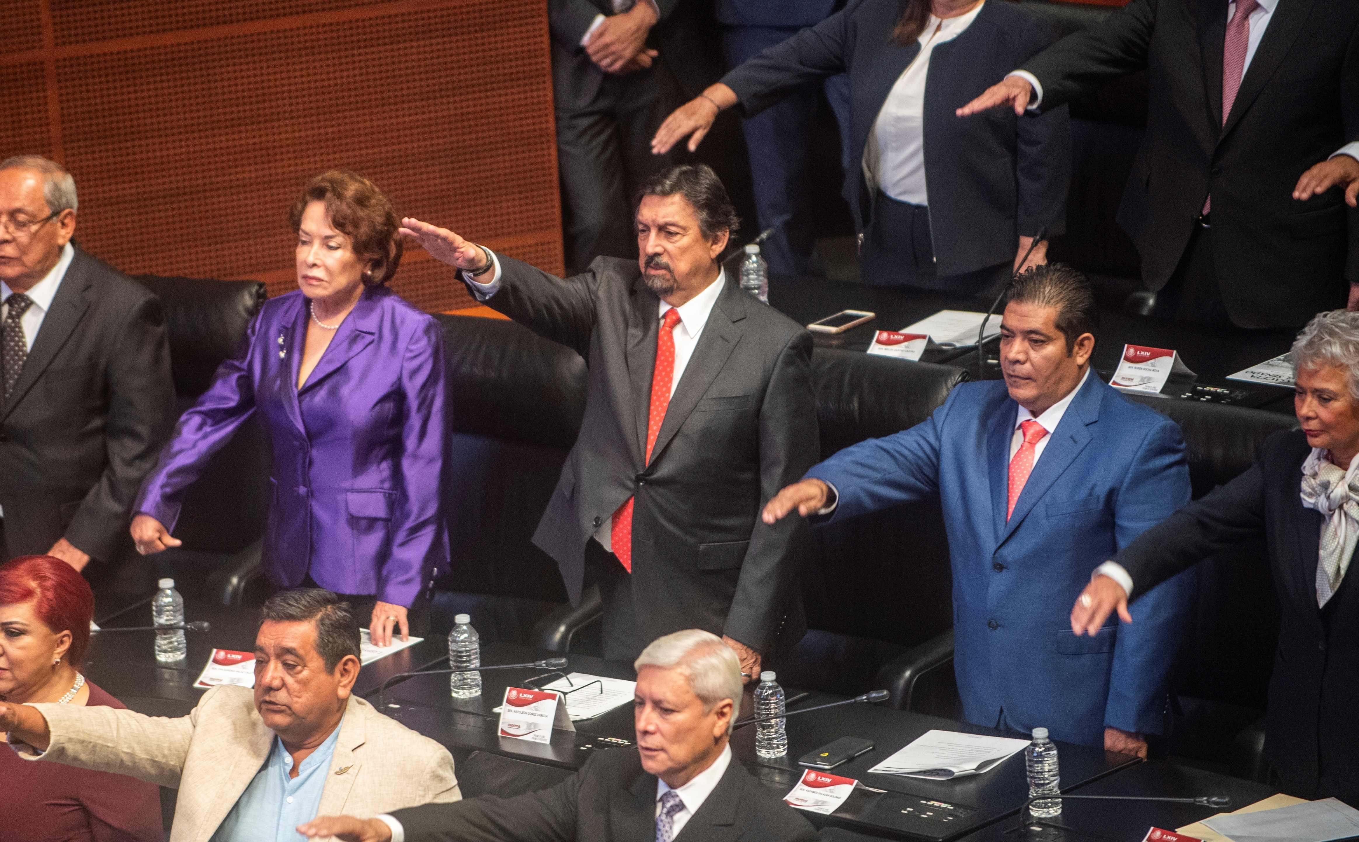 البرلمان المكسيكى