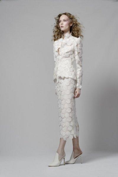 موديلات فساتين زفاف 2019 متوسطة الطول من مجموعة Elizabeth Fillmore
