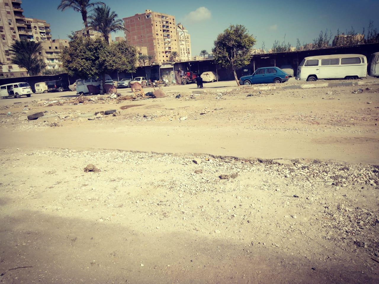 انتشار القمامة وسوء الخدمات فى منطقة ترسا بالهرم (4)