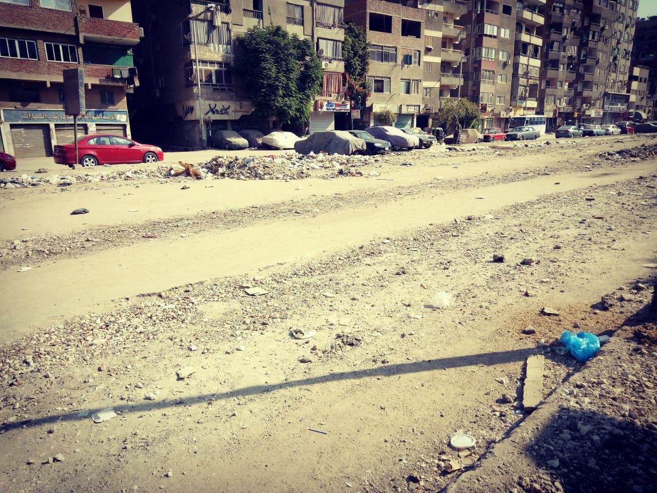 انتشار القمامة وسوء الخدمات فى منطقة ترسا بالهرم (3)