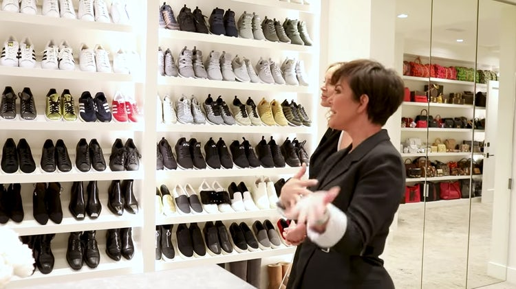 غرفة الأحذية