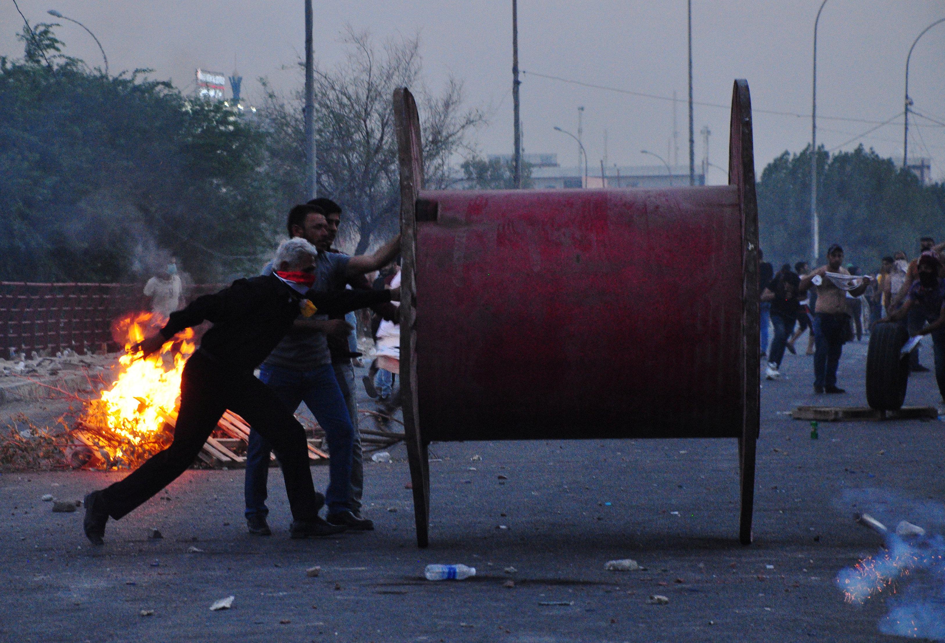 الاشتباكات فى العراق