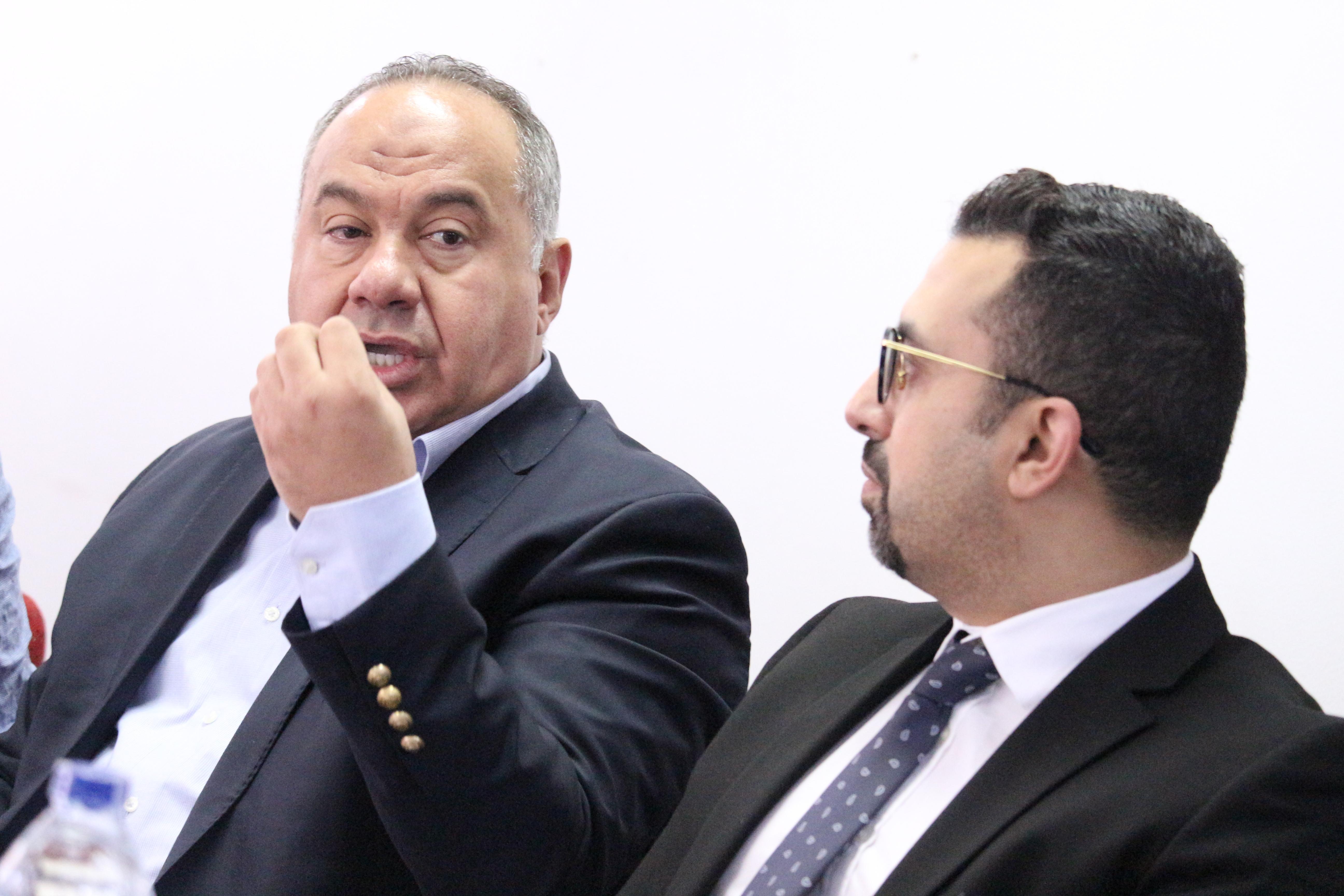 أحمد شيحة رئيس شعبة المستورردين باتحاد الغرف التجارية