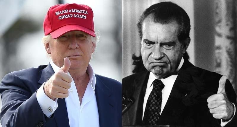 ترامب ونيكسون