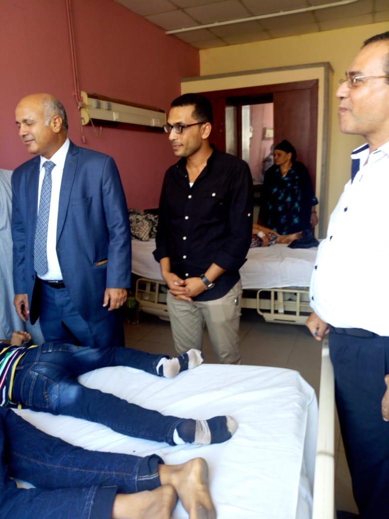قافلة طبية بمستشفى الفشن للقضاء على قوائم الانتظار (3)