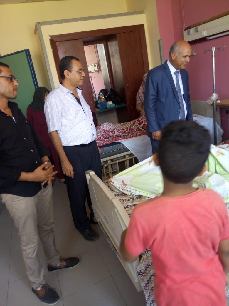 قافلة طبية بمستشفى الفشن للقضاء على قوائم الانتظار (2)
