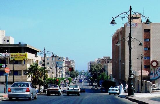 شارع الإسكندرية في مطروح