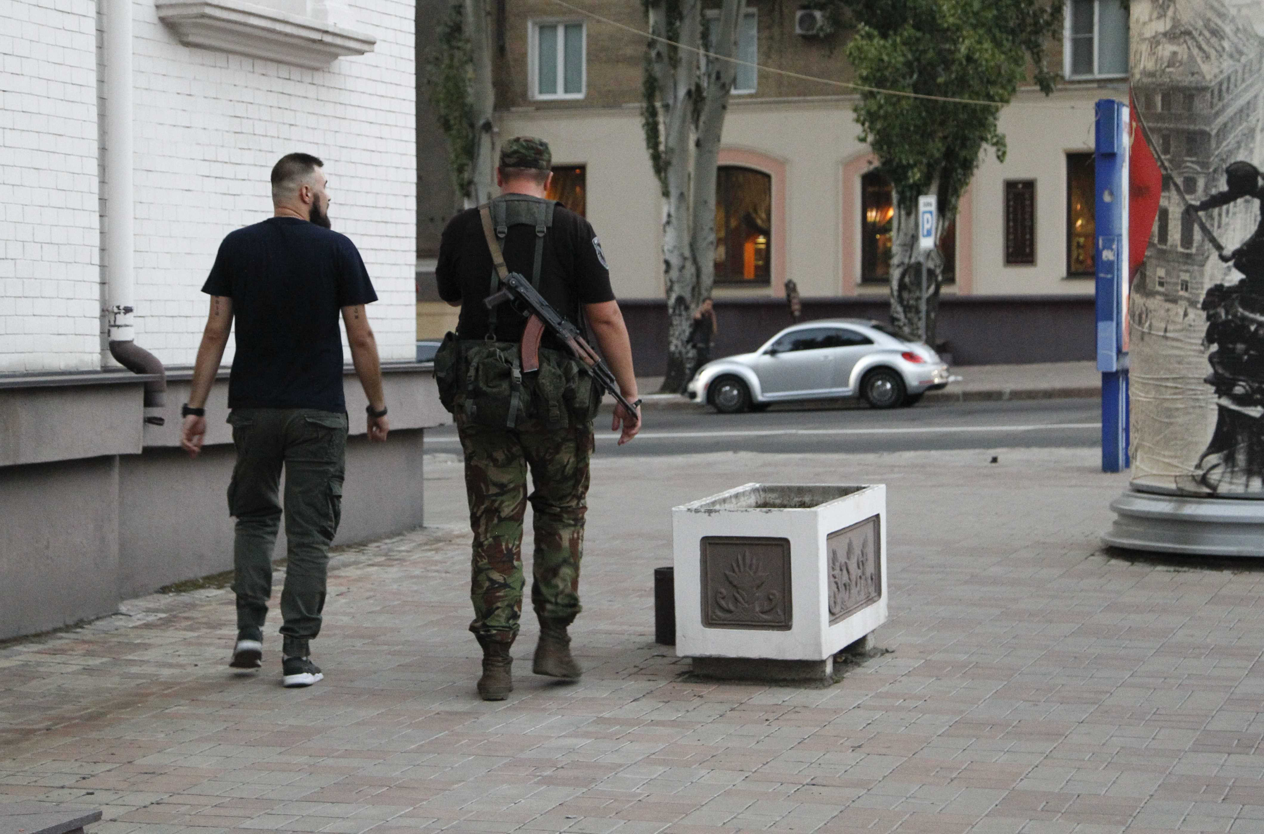 جانب من شرطة أوكرانيا