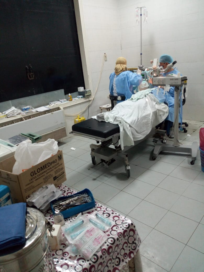 قافلة طبية بمستشفى الفشن للقضاء على قوائم الانتظار (1)