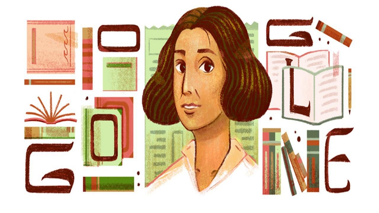 جوجل يحتفل بذكرى ميلاد عنبرة سلام الخالدى