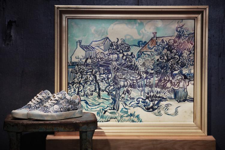 لوحة و حذاء لفان جوخ