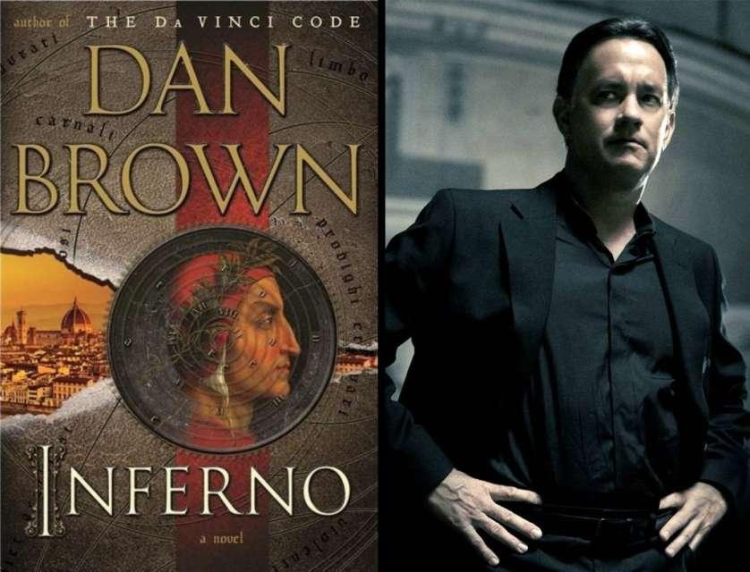 توم هانكس ورواية الجحيم لـ دان براون