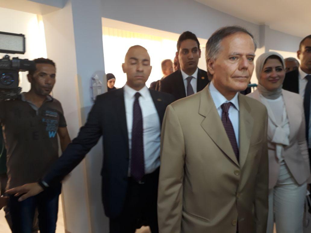 وزير الخارجية الايطالى إينزو موافيرو ميلانيزي