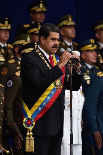 حديث الرئيس الفنزويلى