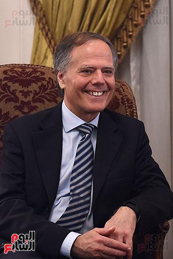 وزير الخارجية الإيطالى