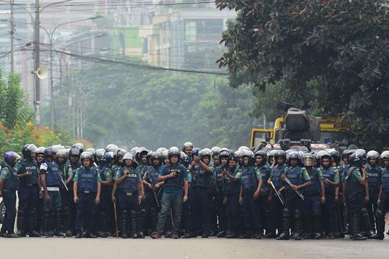 الشرطة فى بنجلاديش