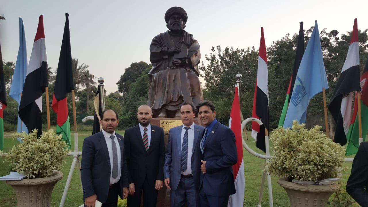 أفغانستان تهدى مصر تمثال جمال الدين الأفغانى فى عيد افتتاح قناة السويس الجديدة (7)
